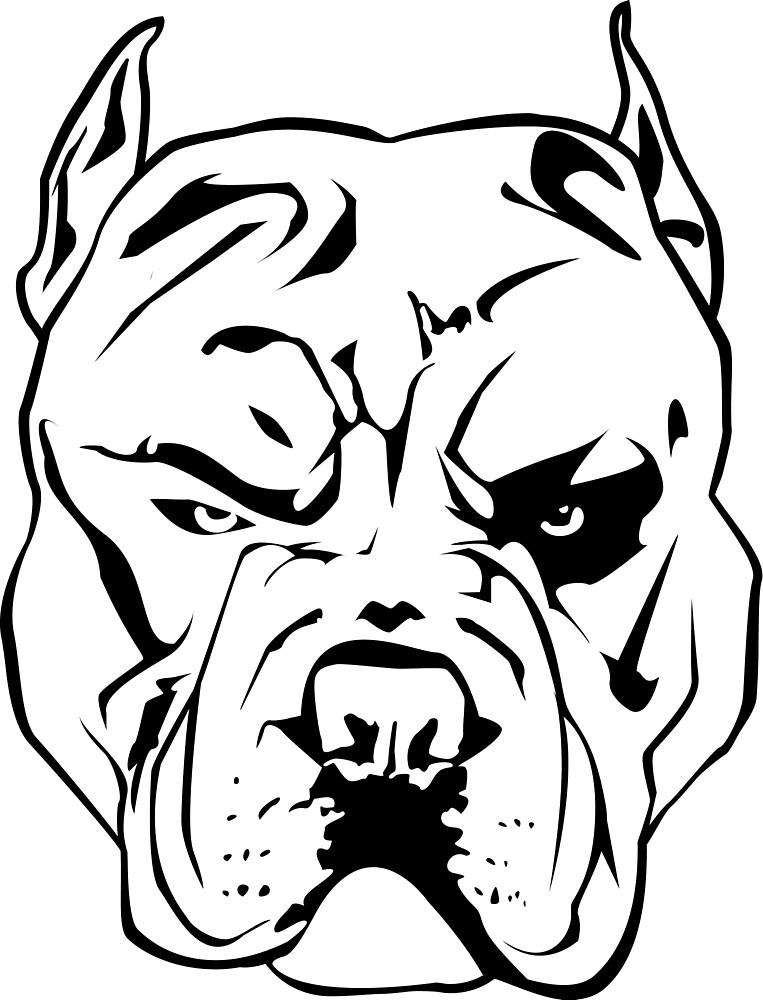 """Angry Pitbull&qu..."