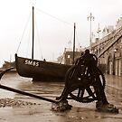 A Rainy Day in Brighton by mikebov