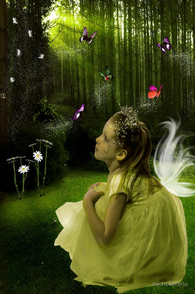 I believe that Angels walk beside us... by michellerena