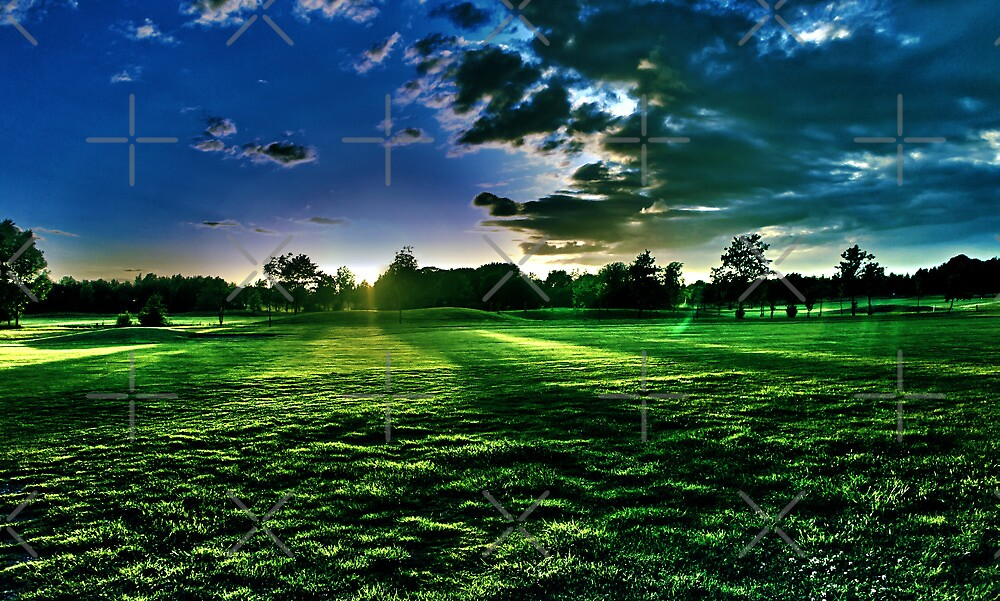 Sunset Golf - HDR Toned by AndrewBerry