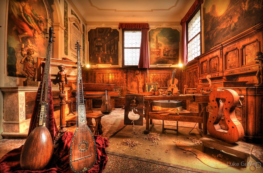 The Stringmaker's Workshop by Luke Griffin