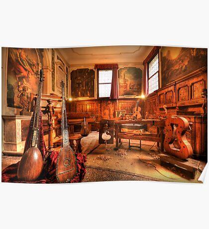 The Stringmaker's Workshop Poster