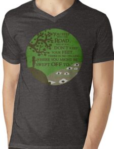 New adventure Mens V-Neck T-Shirt