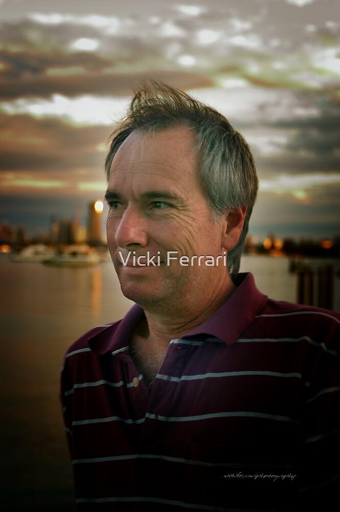 Male Portrait © Vicki Ferrari Photography by Vicki Ferrari
