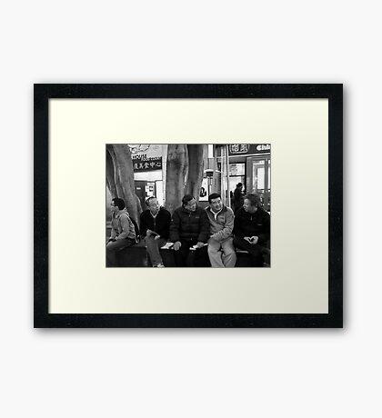 Old Friends Framed Print