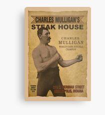 Charles Mulligan's Steak House Metal Print