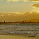 Sunrise At Middleton Beach by Robert Abraham