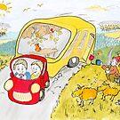 Caravan Fun by Mike HobsoN