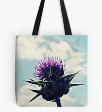 Stubborn Thistle Tote Bag
