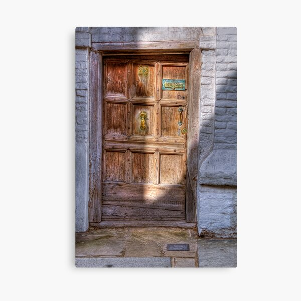 There Was a Crooked Door Canvas Print