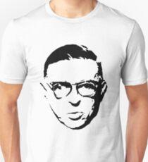 Camiseta ajustada Sartre