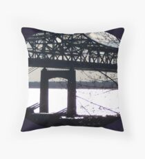 Braga Braun, Guns at Dawn Throw Pillow
