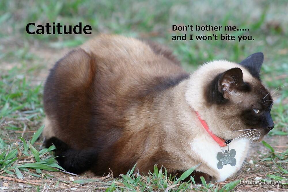 Catitude by DebbieCHayes