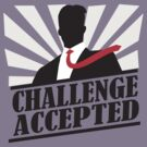 Challeng Accepted by DetourShirts