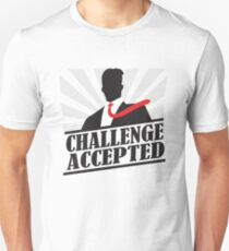 Camiseta unisex Challeng Accepted