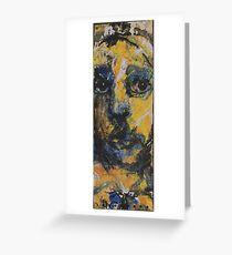 Face, Bernard Lacoque-119 Greeting Card