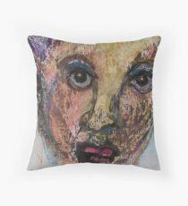 Face, Bernard Lacoque-118 Throw Pillow
