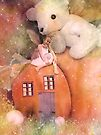 Little Fairy In The Pumpkin Patch by Shelly Harris