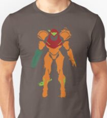 Samus Aran Splattery T T-Shirt