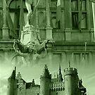 Brabo - 't Steen - Antwerp by Gilberte