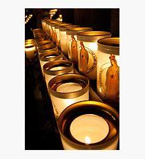 Votive Candles Notre Dame Photographic Print