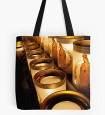 Votive Candles Notre Dame Tote Bag