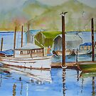 Watercolour, British Columbia Scenes by ddonovan