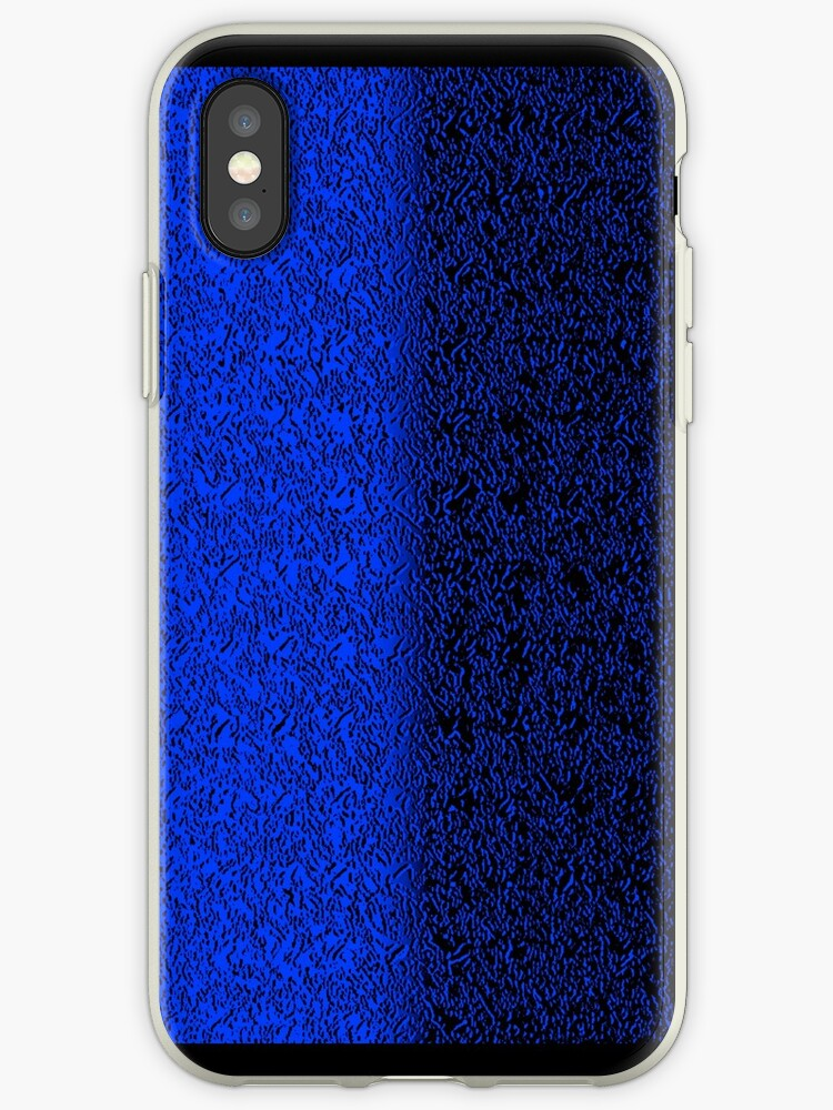 Blue Taijitu iPhone / Samsung Galaxy Case by Tucoshoppe