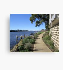 The Pathway (by Shoalhaven River,NSW) Canvas Print