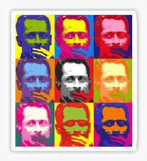 Weiner Warhol Sticker