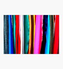 Fabrics Photographic Print