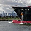 Steaming up the Yarra. by Col  Finnie