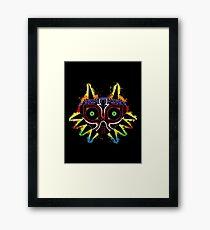 Majora's Splat~ Framed Print
