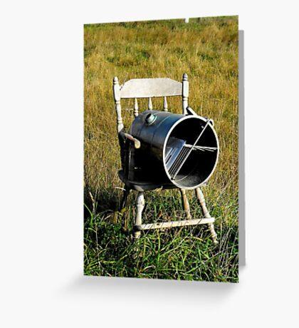 Rocking Chair Mailbox Greeting Card