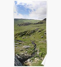 Pass the stream - Healy Pass, Beara, Ireland Poster