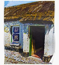 Ballinderry Forge Cottage, Cultra, County Down. Poster