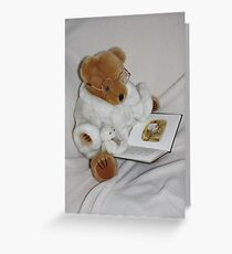 Now Let me Tell you the Story of Mrs Tittlemouse !! Greeting Card