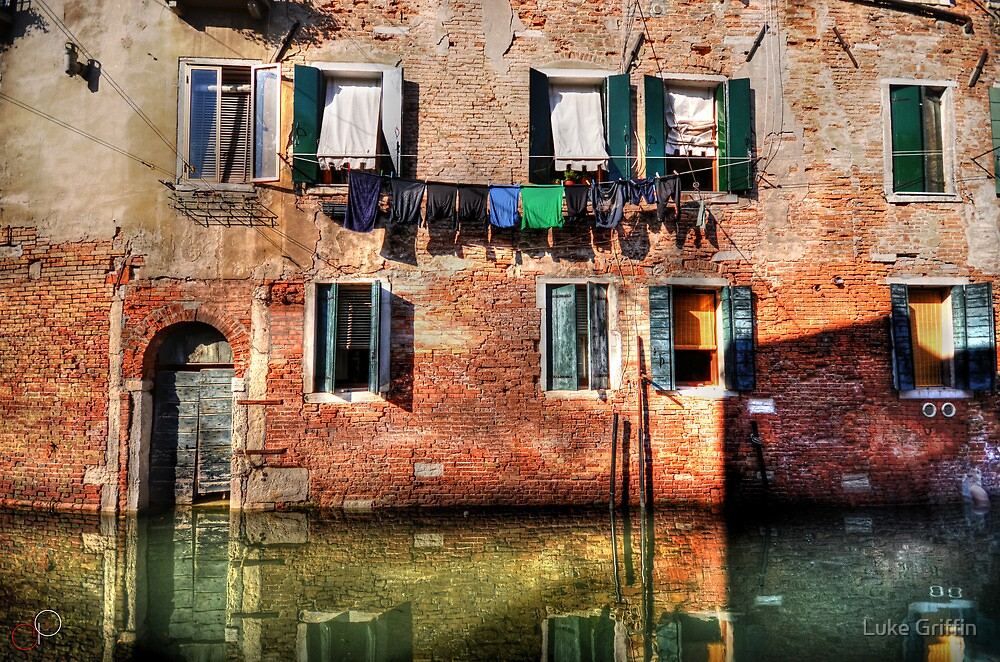 Venice washing #1 by Luke Griffin