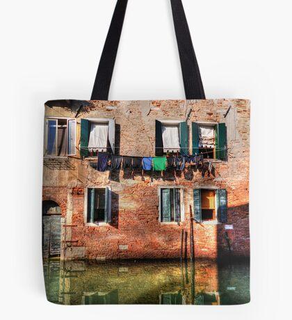 Venice washing #1 Tote Bag
