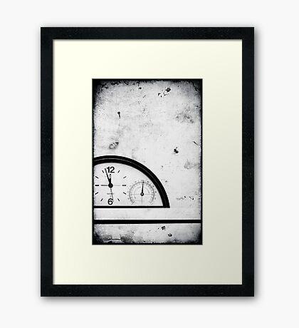 Almost twelve II Framed Print