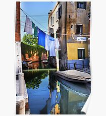 Venice washing #5 Poster