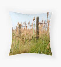 Grass Lands Throw Pillow