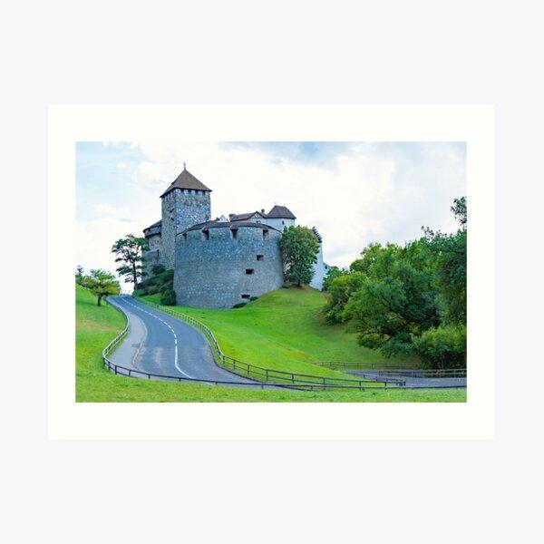Vaduz Castle Art Print