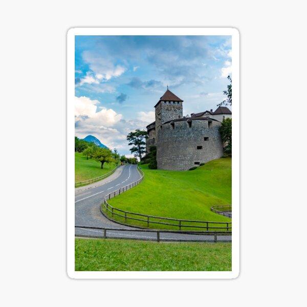 Vaduz Castle Sticker