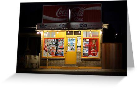 Kelly's Corner Store by Colleen Milburn
