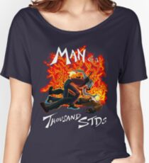 Man of a Thousand STDs Women's Relaxed Fit T-Shirt