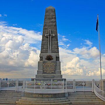 War Memorial by Hawker
