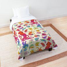 Cephalopod - pastel Comforter