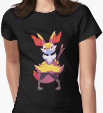Braixen Womens Fitted T-Shirt