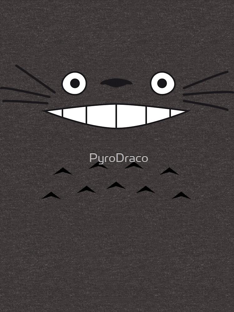 Cara de Totoro de PyroDraco